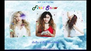Girls' Generation-TTS First Snow [Karaoke THAISUB]