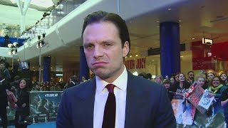 Sebastian Stan wants a tighter Winter Soldier outfit!