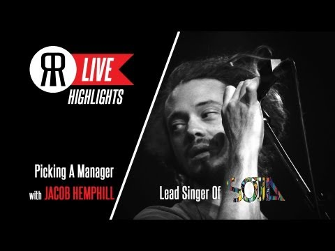 Jacob Hemphill of SOJA Discusses How To Find A Manager