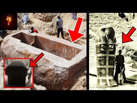 """Huge-Tombs"" Found In Giza ⁓ Giants Built The Great Pyramids?"