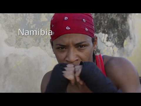 Namibia - A female fighter in Cuba
