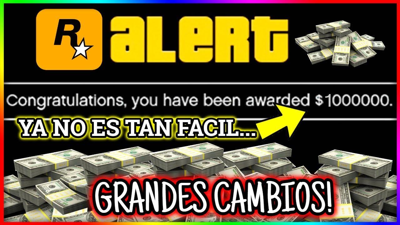 ROCKSTAR HA HECHO CAMBIOS EN NUESTRO 1,000,000$ MENSUAL! NOTICIAS GTA5 ONLINE| CJPM
