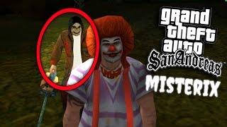 CREEPYPASTAS & PERSONAJES DE HORROR! | GTA San Andreas Misterix Mod (Funny Moments #2)