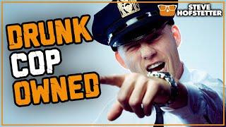 Heckler cop thinks he