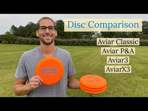 Innova Aviar Comparison | Aviar Classic vs. Aviar Putt & Approach vs. Aviar3 vs. AviarX3