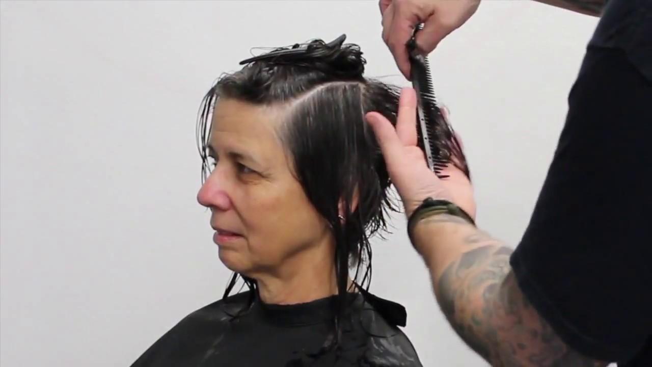 How to cut short hair, Pixie Haircut tutorial