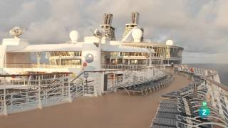 Comida a lo grande: El crucero más grande del mundo