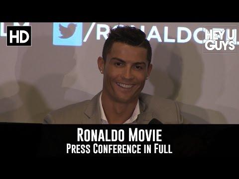 Cristiano Ronaldo Movie Press Conference Interview in Full