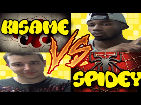 *LIVE* Spidey Vs Kisame End Of The Format Battle! (Six Path Of Pain Vs Spidey Spotlight) #3