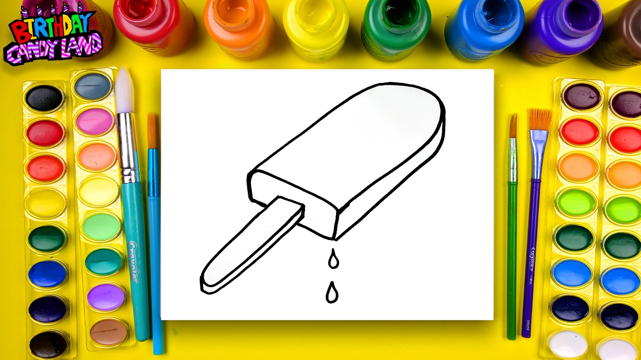 Coloring for children to learn to color and draw and paint for Learning to paint and draw