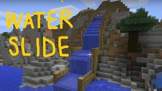 How to Build a WATER SLIDE in Minecraft *FREE FALL* | Gaming