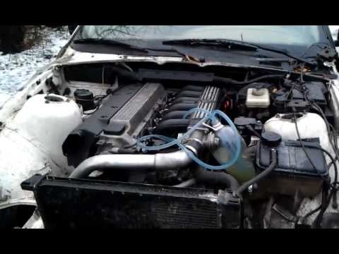 bmw e36 325 td with e38 cylinder head youtube. Black Bedroom Furniture Sets. Home Design Ideas