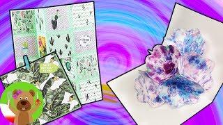 Kartki 3D | pomysły na rozkładane kartki urodzinowe