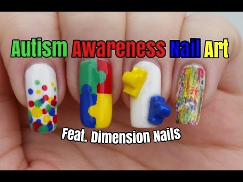 Puzzle nail art autism awareness month feat dimension nails puzzle nail art autism awareness month feat dimension nails nail design tutorial stephyclaws prinsesfo Images