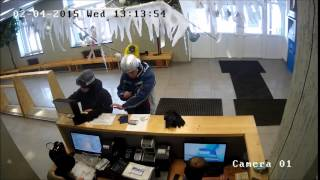 Тестовая видеозапись с AHD камеры из комплекта IVUE-D5004 AHC-D2