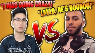 RICEGUM VS TSM HAMLINZ 1V1 BOTH POV'S IN RANDOM MATCH | FORTNITE TSM PRO VS YOUTUBER