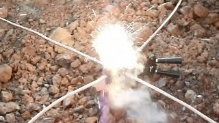 Welding wire termite (pyrotechnical)