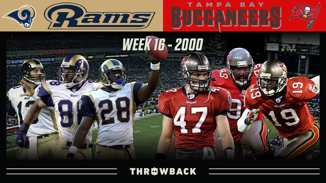 The WILDEST Revenge Game! (Rams vs. Buccaneers 2000, Week 16)