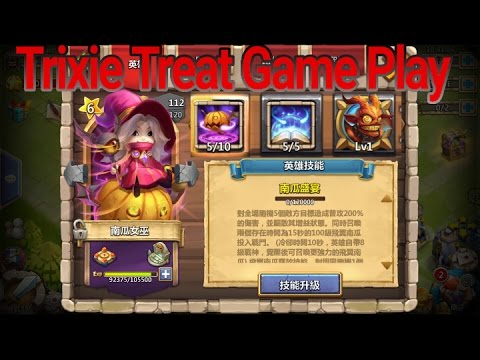 Castle Clash Trixie Treat Game Play