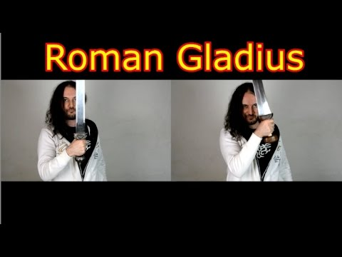 Roman Cheap Gladius vs Historically Accurate Gladius