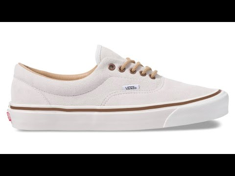 "de141d28c0 Shoe Review  Vans ""Anaheim Factory"" Era 95 DX (OG White) - YouTube"