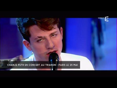"Charlie Puth, en Live avec ""One Call Away"" - C à vous - 03/05/2016"