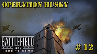 Battlefield 1942 multiplayer game #12. Operation Husky. (Road to Rome add-on)