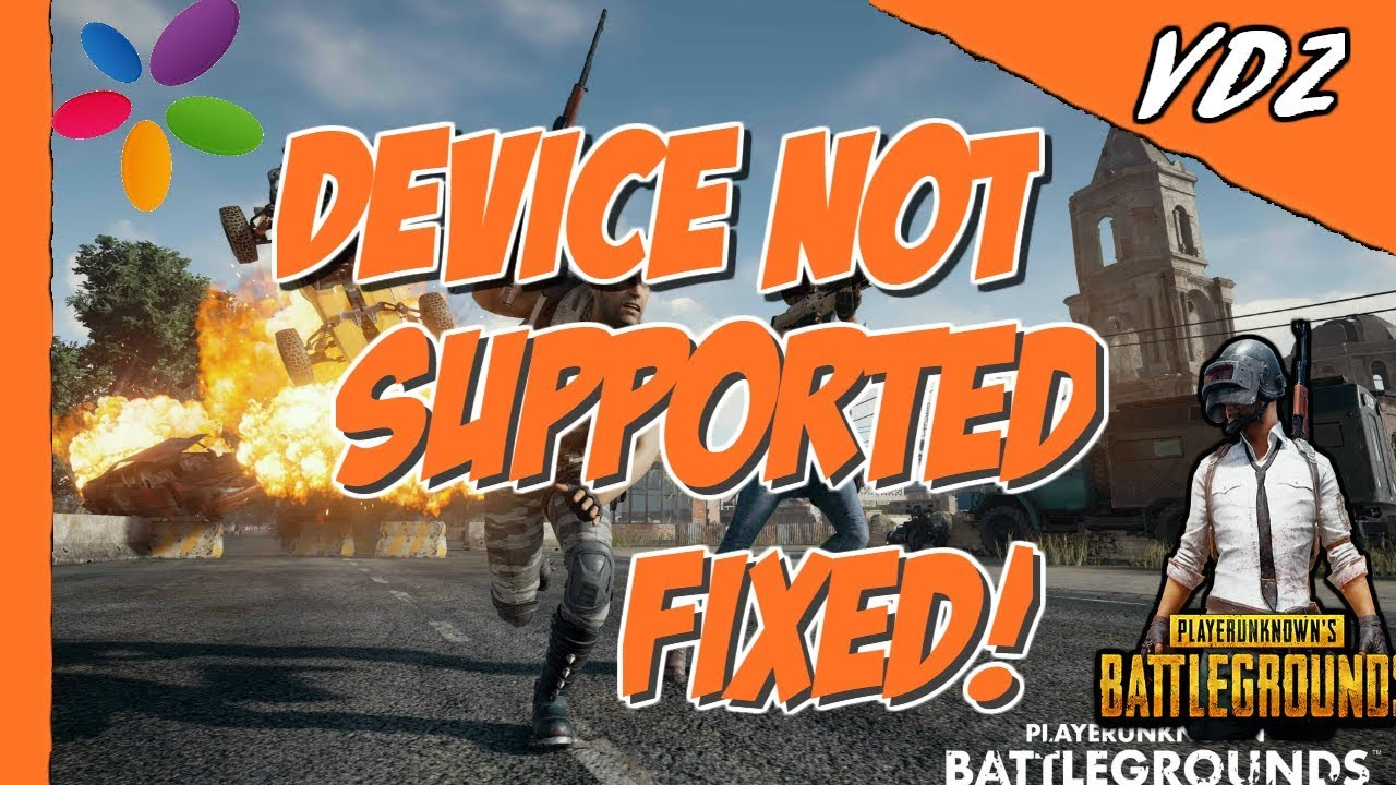 Pubg Hdr Supported Mobile: Pubg Mobile Device Not Supported Error-memu Play Fixed
