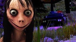 THE POLICE SAVE US AND DEFEAT MOMO! || MOMO ENDING Creepypasta Horror Game