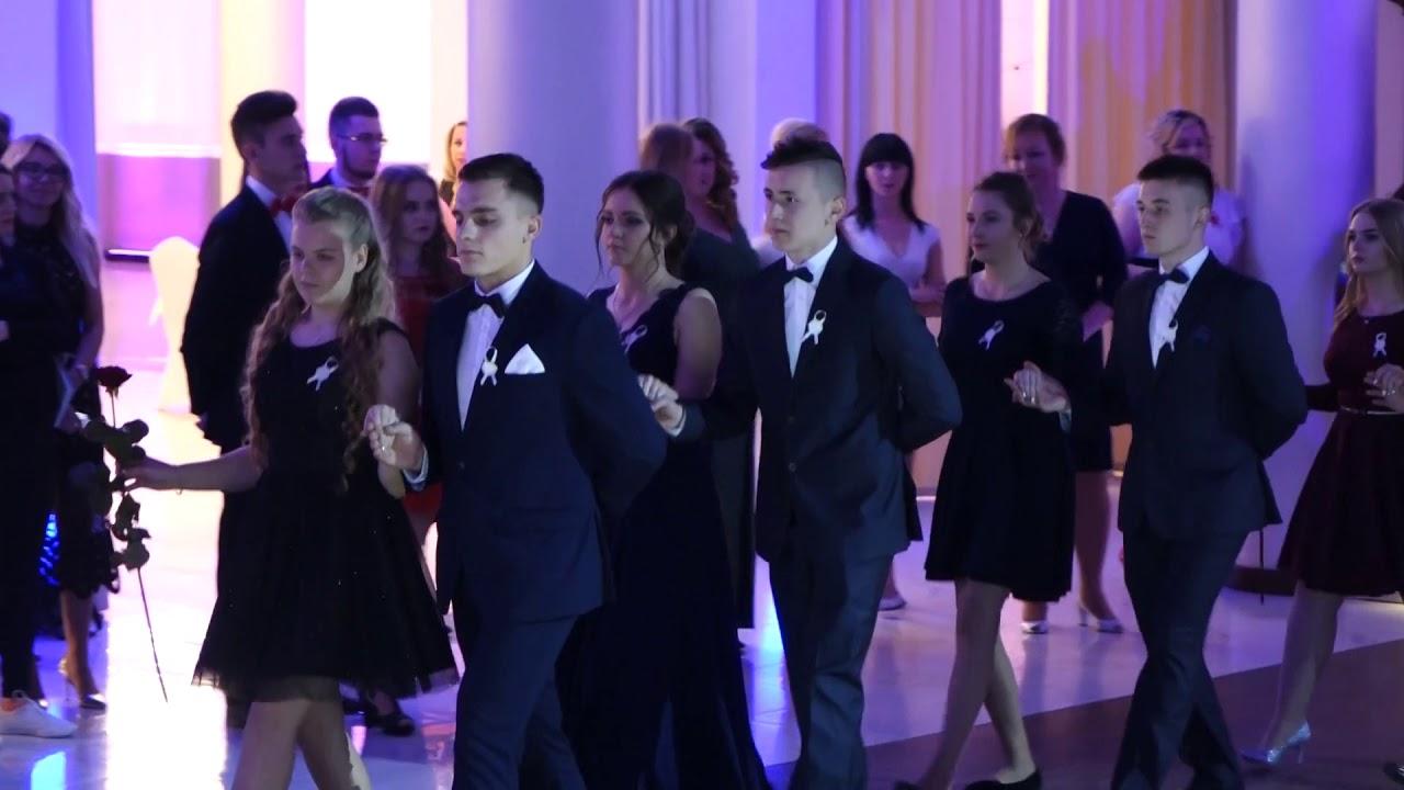 Pokazowy polonez Ekonomika. Studniówka w Hotelu Binkowski 05.01.2018