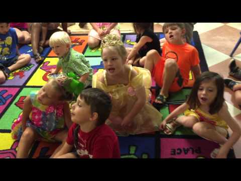 """You Are My Sunshine"" at Kreative Kingdom Kids Christian Learning Center"
