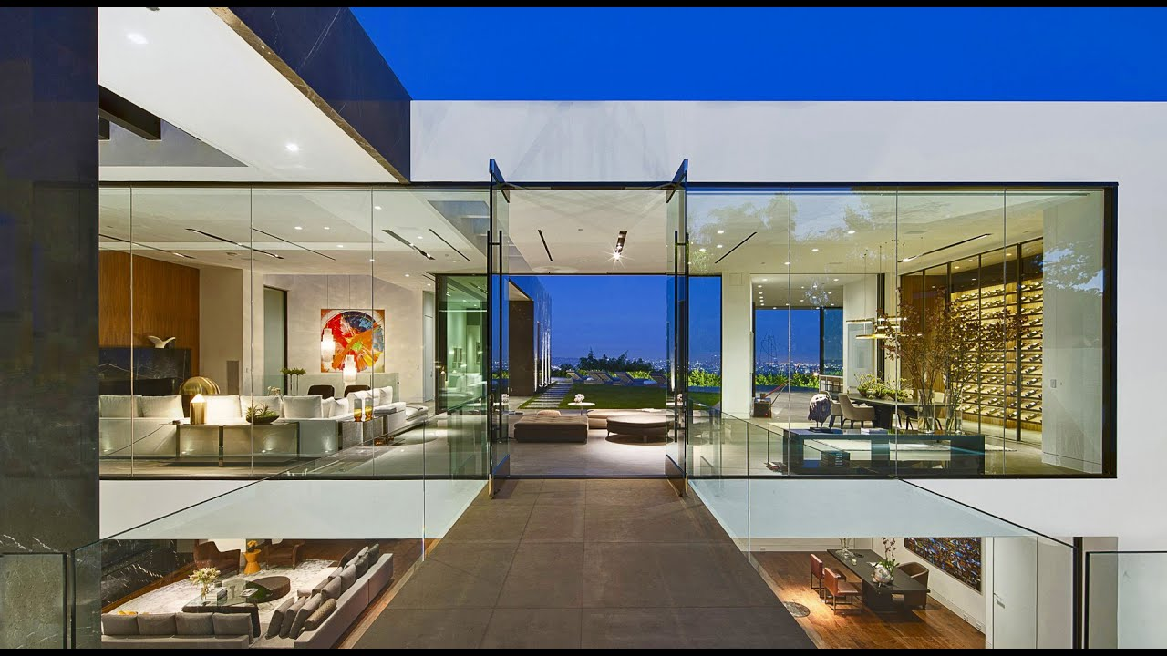 Los Angeles Luxury Real Estate - Bird Streets Sprawling View Estate -  YouTube
