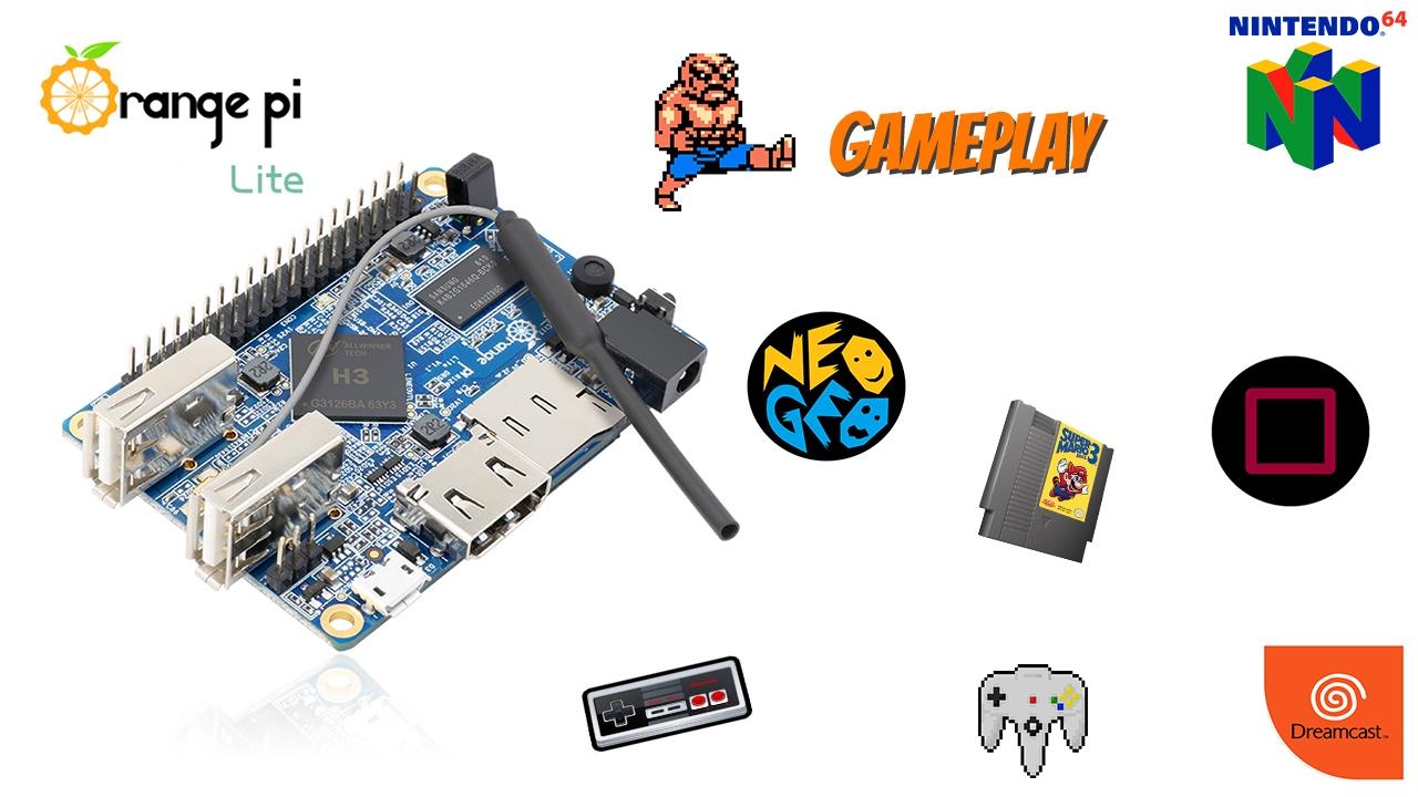 Orange Pi Lite - Gameplay Test +10 systems
