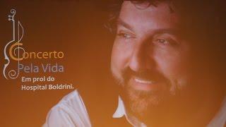 Concerto pela Vida – Bravo Pavarotti, no Theatro Municipal de Paulínia.