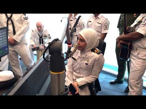 KRISTALfm Interview - Royal Brunei Navy Band and US Navy 7th Fleet Band 2017