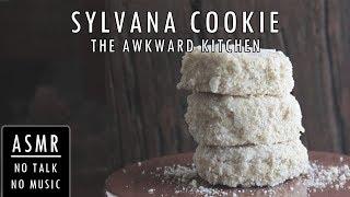 Filipino ASMR Cooking Sounds No Music | How To Make Sylvana/Silvana Cookies