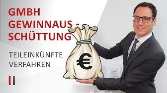 Gewinnausschüttung aus einer GmbH: Kapitalertragsteuer vs. Teileinkünfteverfahren | Christoph Juhn