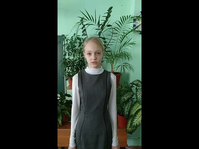 Изображение предпросмотра прочтения – МарияКоновалова читает произведение «Доброту не купишь на базаре...» А.Д.Дементьевa