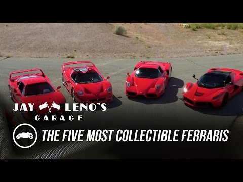 The Five Most Collectible Ferraris On One Track – Jay Leno's Garage