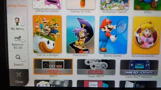 Buying $100 worth of Digital Games on the Wii U Virtual Console!
