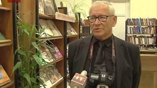 В Новгородской областной библиотеке открылась выставка Александра Кочевника
