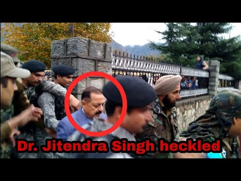 Locals heckled MoS Jitendra Singh, accused him of totally ignoring them after coming to power | UNT