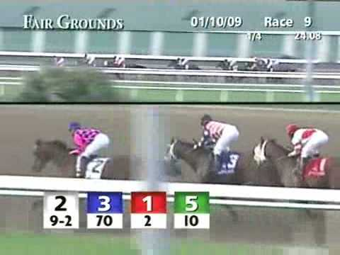 FAIR GROUNDS, 2009-01-10, Race 9