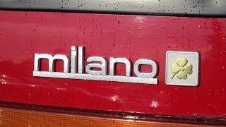 Alfa Romeo 75 Milano (1988) Review