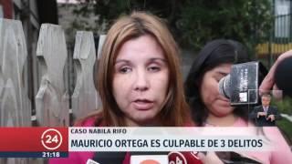 Caso Nabila: Declaran culpable a Mauricio Ortega