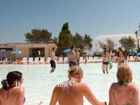 Hostels247.com - Camping Village Fabulous in Rome Italy Video Book Now