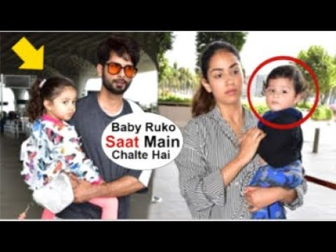 Shahid Kapoor LEAVES For Vacation With Wife Mira Rajput Along With Kids Zain & Misha Kapoor Mp3