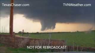 4-14-2012 HIGH RISK Tornado Outbreak near Woodward Oklahoma