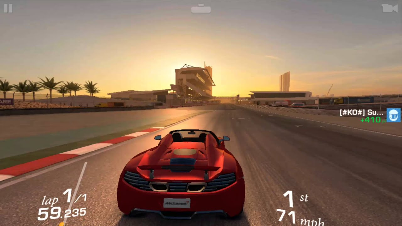 real racing 3- mclaren mp4-12c android gameplay - youtube