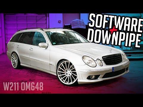 Stern Garage - Software + Downpipe für dem OM648 | Mercedes Benz W211 E320 CDI